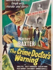 Crime Doctor's Warning