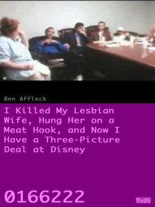 I Killed My Lesbian Wife, Hung Her on a Meat Hook,