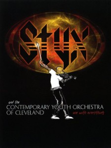Styx and the Contemporary Youth Orchestra - One wi