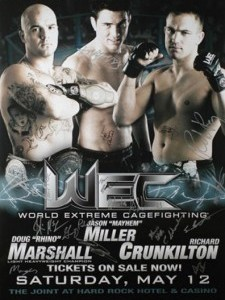 WEC 27: Marshall vs. McElfresh