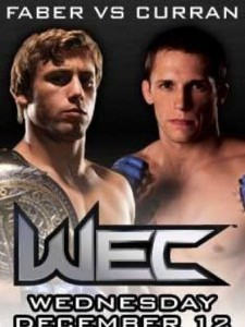 WEC 31: Faber vs. Curran