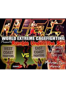 WEC 4: Rumble Under The Sun