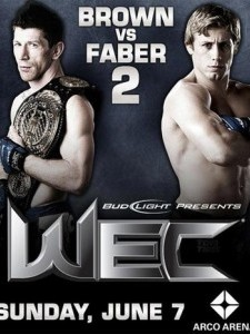 WEC 41: Brown vs. Faber 2