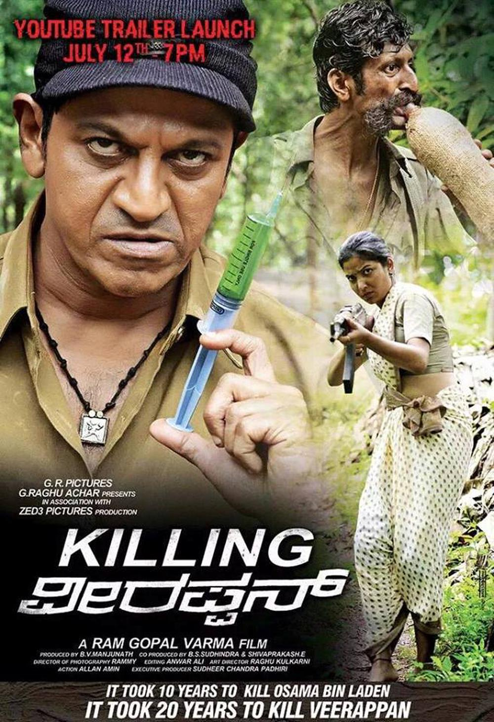 Killing Veerappan (2021) Hindi Dubbed 450MB HDRip 480p Free Download